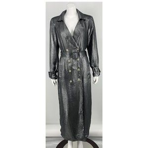 NEW House of Harlow Metallic Jacket Small D49